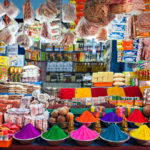 India shop colorful