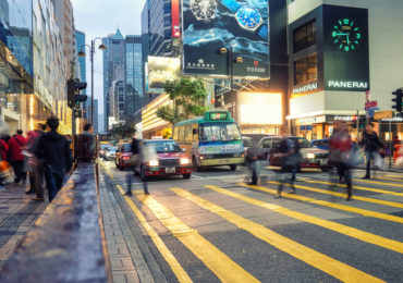 Retail in Asia Hong Kong Footfall Index