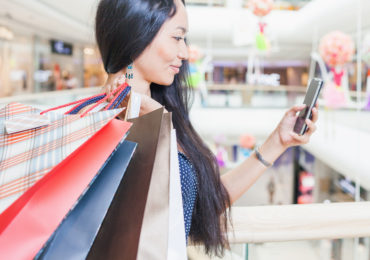 Retail in Asia Mobile Shopping