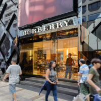 Burberry in Asia