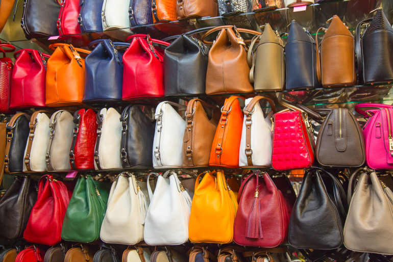 Counterfeit Bags - Retail in Asia