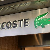 Lacoste Logo Store - Retail in Asia
