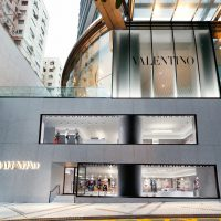 valentino flagsip store hk - retail in asia