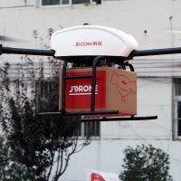 JD.com drone delivery Eric Zhao interview China e-commerce - Retail in Asia