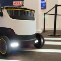 delivery robot - Retail in asia