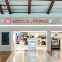 Lotte Duty free Stevie awards gold - Retail in Asia
