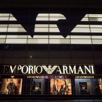 JD.com welcomes the arrival of two new Armani official stores