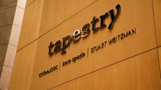 Luxury goods group Coach is rebranded as Tapestry 2