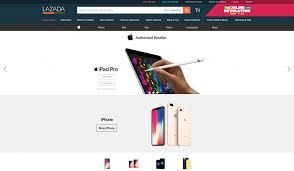 Apple launches on Lazada