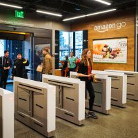 Amazon opens debut checkout-free grocery store