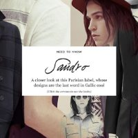 Mr Porter launches Sandro Homme