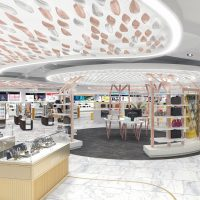 The Shilla Duty Free at Hong Kong International Airport - Store Rendering 3