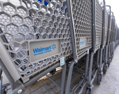 Walmart's biometric shopping cart : new source for customer data
