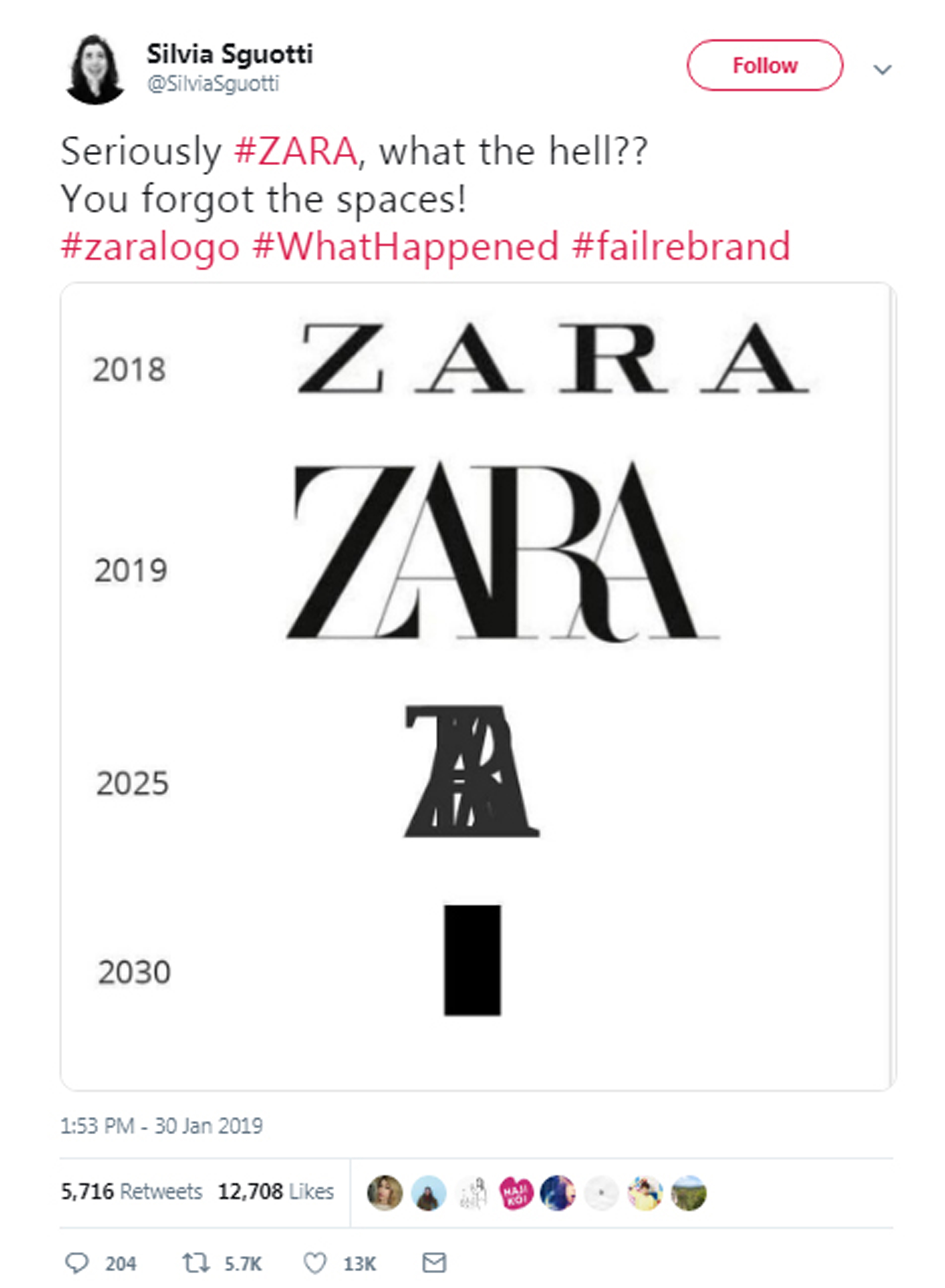 Why has Zara changed its logo? - Retail in Asia
