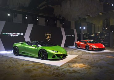The new Lamborghini Huracán EVO Coupé and Spyder officially launch in Hong Kong