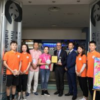China's Chengdu Panda Café opens in Naples, Italy