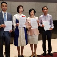 New People's Party chairwoman Regina Ip 1