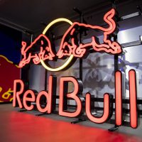 Red Bull Neon Sign