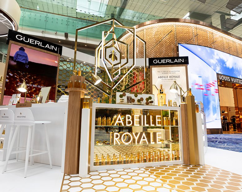 Shilla launches three-axis Guerlain outpost at Changi Airport