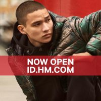 H&M online shop in Indonesia