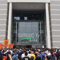 Photo 1 a Raffles City Chongqing opening crowd