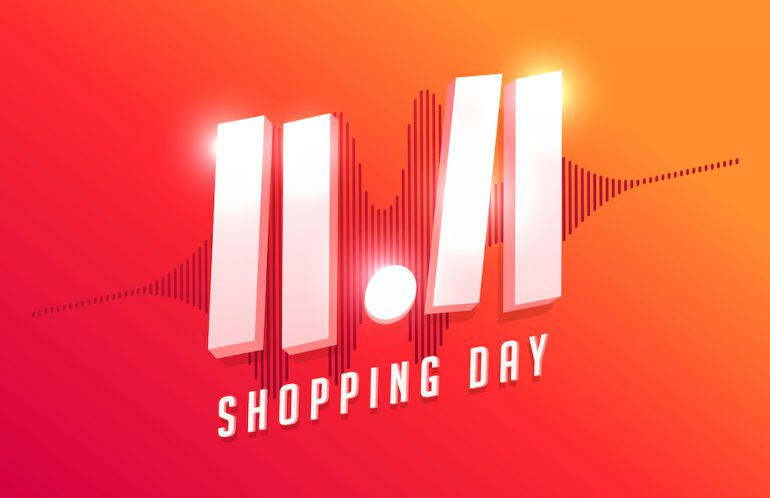 11.11 shopping day