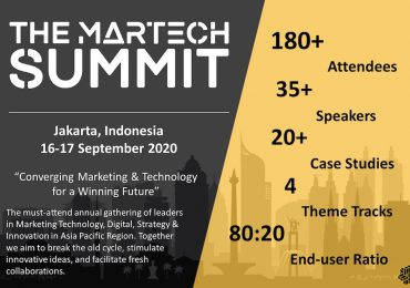 The Martech summit in Jakarta